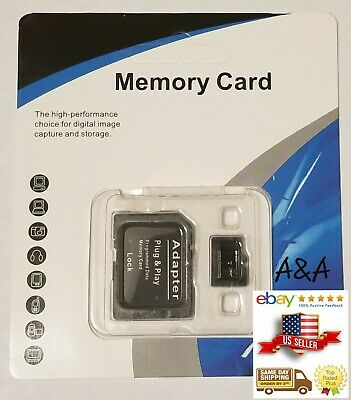 1TB Micro SD Memory Card with Adapter for 1TB Micro SD Card Slot