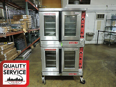 Blodgett Mark V-111 Commercial Double Electric Convection Oven