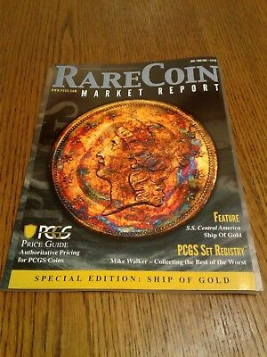 """2018 May / June PCGS Rare Coin Market Report Magazine NEW """"Special Edition"""""""