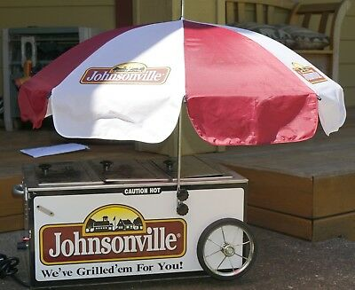 Johnsonville Hot Dog Steamer Mini Cart With Inflatable Hot Dog