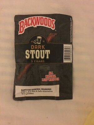 Dark Stout Backwoods **Rare**  (Pack of 5)