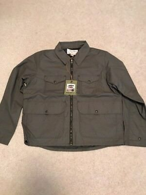 Filson Bell Bomber Waxed Cotton Lined Jacket XL NWT $325