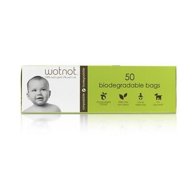 Wotnot Biodegradable Nappy Bags 50 Pack