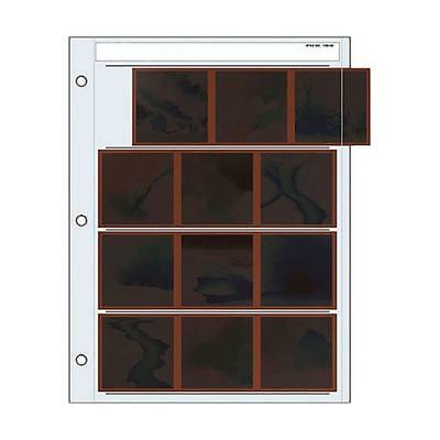 New Print File 120 Size Negative Pages Holds Four Strips Of Three 6X6 Frames