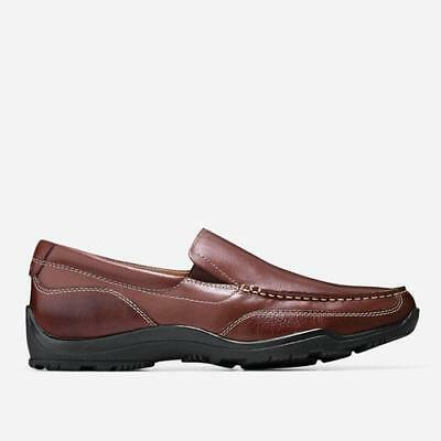 fac870134d3 New Cole Haan Mens Hughes Grand Venetian Loafer - Chestnut Leather Slip on