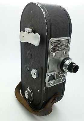 KEYSTONE A-3 16mm Movie Camera Wollensak f/3.5 25mm Cine Velostigmat Lens