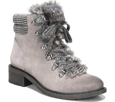 ade4c3ec560b SAM EDELMAN DARRAH Lace Up Hiking Boots size 7 M Women s Black Suede ...