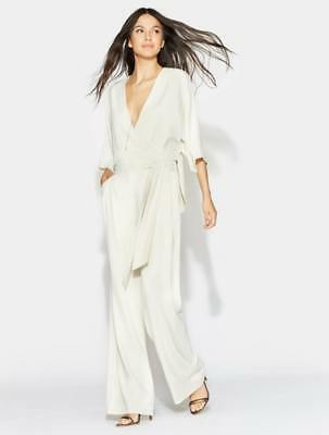 20384132371b NEW HALSTON HERITAGE Womens High Neck Jumpsuit - Cream -  495.00 ...