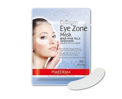 Purederm Collagen Eye Zone Mask Natural Patches Anti Wrinkle Korea cosmetic