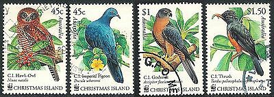 2002 Christmas Island Christmas Island Birds - Used Set