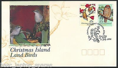 1996-07-11 Christmas Island Land Birds Lot 1