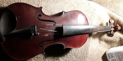 Unknown Estate Vintage Antique Violin.