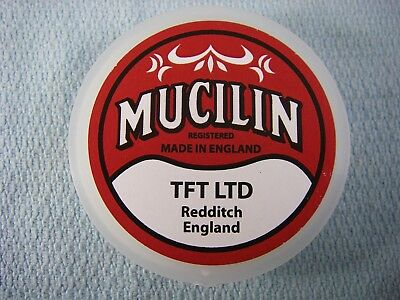 MUCILIN RED Can FLY LINE Dressing; Fly Floatant; Made In England