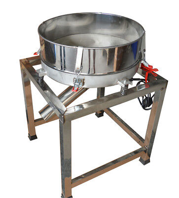 New Vibratory Screener Sifter,Deck Screener,Powder sieve,Automatic 110V 300W Hot