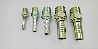 Male Bsp Tapered Hydraulic Hose Tail/fitting