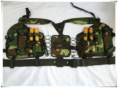 Original Chinese PLA Type 95 T97NSR Chest Rig + Tac Belt + Scope Pouch+ Sheath