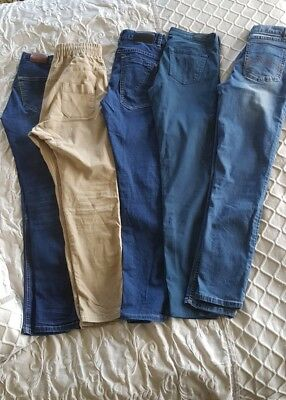 5 pairs Boys Jeans, Size 14 VGC Osmosis, Just Jean's etc