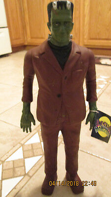 """1991 Universal Monsters Hamilton 14"""" Frankenstein Mt With Tag"""