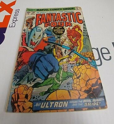 Lot of 4 Fantastic Four Issue 150, 270, 275 & 278