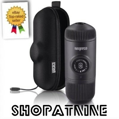 Wacaco Nanopresso with Case Espresso Coffee Machine Portable Minipresso