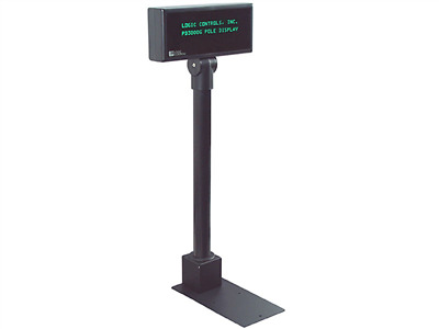 LoGIC Control pole display model no.  PDX3000-UP-BK