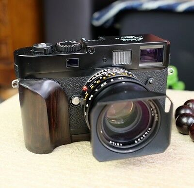 Handmade High-End Natural African Blackwood Hand Grip for Leica M240 M-P M240P