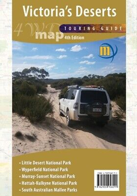 Meridian Maps Victoria's Deserts 4WD Map 4th Ed Touring Guide