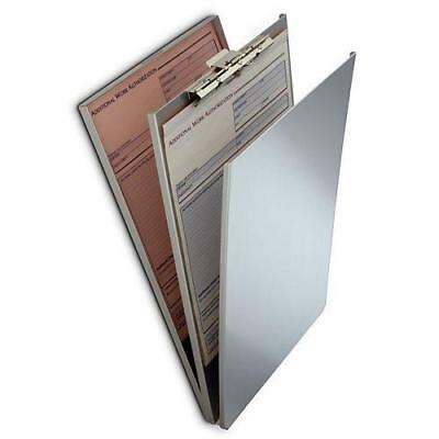 "Saunders 10022 Heavy Duty Aluminum Top Opening A-Holder 9.5"" x 12"" Clipboard"