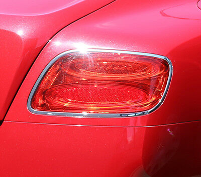 Bentley Continental GT 2D 2012~2013 Chrome frame bezel for Tail lights