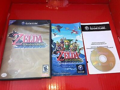 The Legend of Zelda: The Wind Waker Complete Nintendo GameCube GCN Tested