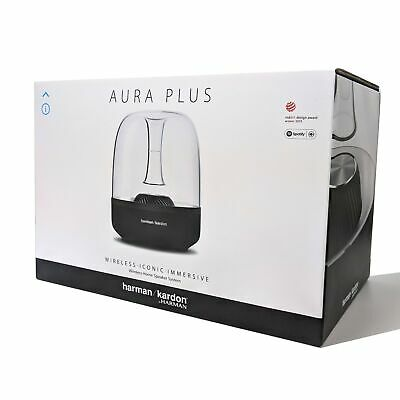 New Genuine Harman Kardon Aura Plus Luxury Airplay Wireless Bluetooth Speaker