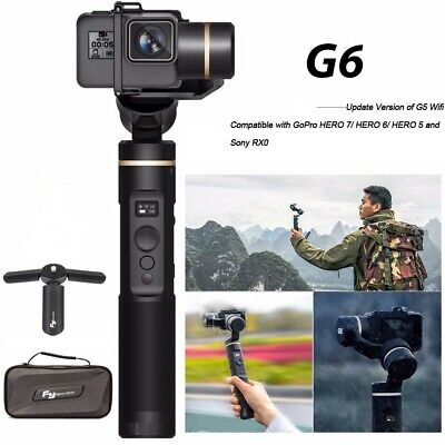 Feiyu G6 3-Axis Splash Proof Gimbal WIFI Bluetooth GoPro Hero 6 5 4 Session RX0