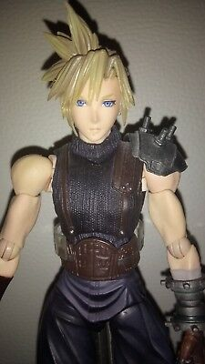 Dissidia Final Fantasy VII 7 Cloud Strife Play Arts Kai Figur Topzustand