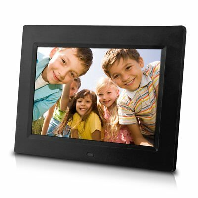 Sungale CD802 8-Inch Digital Photo Frame,multimedia player,5 star product Black