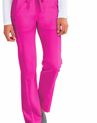 Careisma Women's Straight Leg Moderate Rise Pocket Drawstring Scrub Pant. CA100P