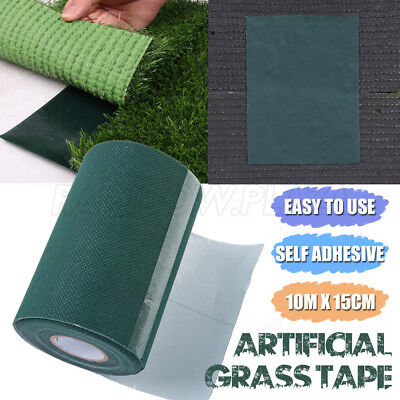 Self Adhesive Synthetic Turf Artificial Grass Joining Tape Glue Peel Lawn Carpet