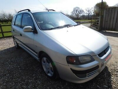 Mitsubishi Space Star 1.9d Equippe manual 5dr 91k One Owner FSH NO RESERVE