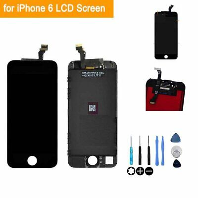 For iPhone 6 Black LCD Display Replacement Touch Screen Digitizer Assembly
