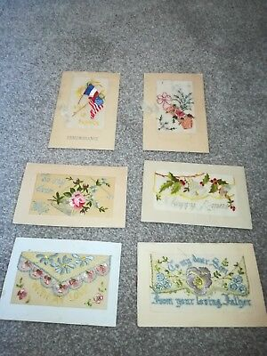 Vintage needlecraft for HM Forces wartime embroidery