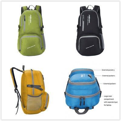 35L Lighweight Outdoor Sport Travel Backpack Packable Hiking Water Resistant Bag