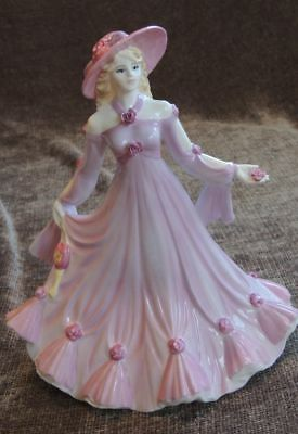 "China figurine, Vintage Coulton ""Many Happy Returns"" Brand New"