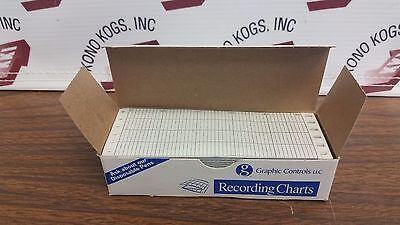 New Graphic Controls 1P01159524 Recording Chart Paper
