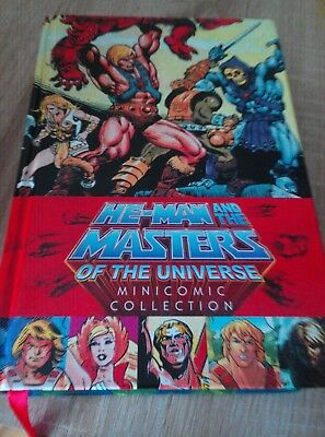 Masters of the Universe minicomic collection