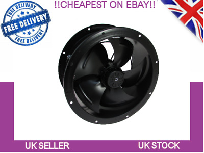 Industrial Duct Fan Cased Axial Commercial Canopy Extractor 250mm - 630mm