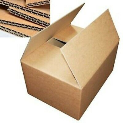 5 LARGE MOVING BOXES Double Wall Cardboard Box NEW Removal Packing Shipping