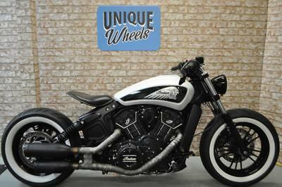Indian Scout Sixty Bobber Conversion 2016 (16) 1600 Miles