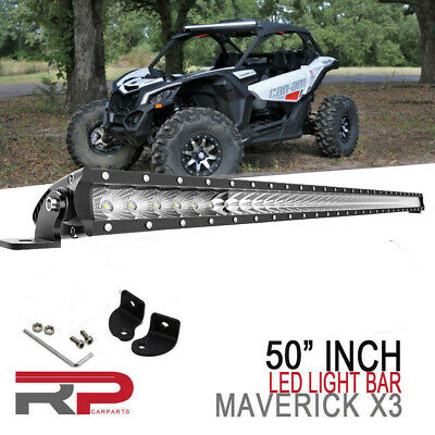 2017-2019 CAN-AM MAVERICK X3 LED LIGHT BAR BRACKETS 40/'/'-42/'/'  LIGHT BAR MOUNTS