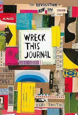 Wreck This Journal: Now in Colour, Paperback by Smith, Keri