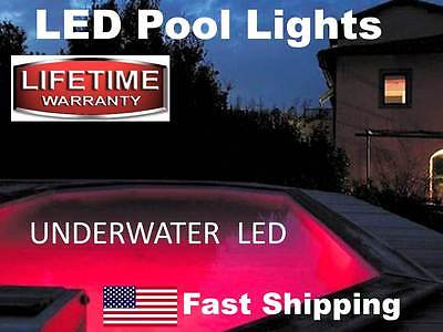 Swimming POOL LED lights - works with above ground or in ground pool - bright