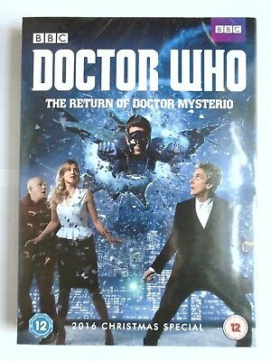 Doctor Who - The Return of Doctor Mysterio - DVD  NEW & SEALED  C1